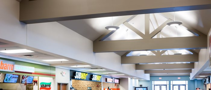 Connecticut Turnpike rest area renovations and new construction designed by BL Companies and photographed by Jeffrey Stevensen.