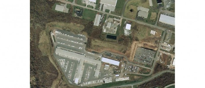 Aerial Map-Fed Ex Ground Parking Expansion