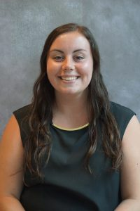 "Marissa Mayo, 2018/19 Intern - Architecture, Meriden: ""The collaboration between disciplines allows me to learn how the other technical areas work, what their jobs are, and how I can help them."""